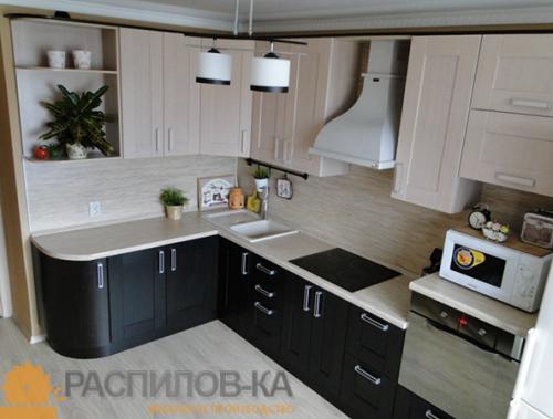 Кухня МДФ ПВХ 010