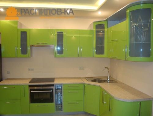 Кухня МДФ Эмаль 004