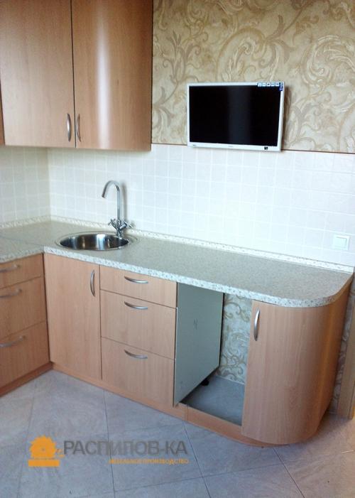 Кухня МДФ ПВХ 023