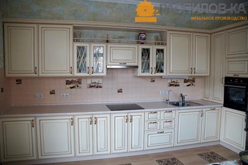 Кухня МДФ Эмаль 013