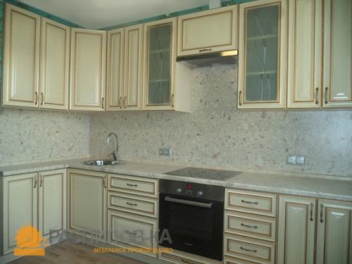 Кухня МДФ Эмаль 015