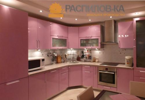 Кухня МДФ Эмаль 008