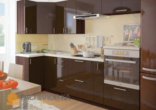 Кухня МДФ Эмаль 012