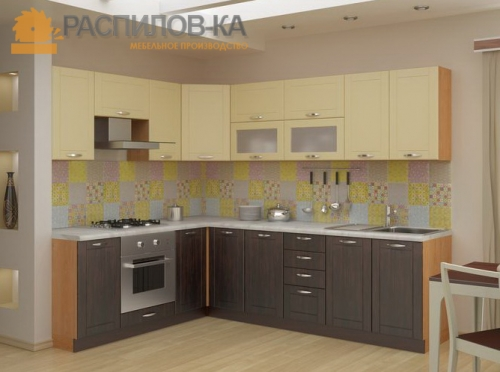 Кухня МДФ ПВХ 006